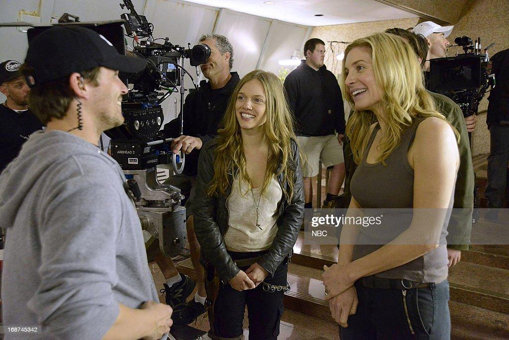 REVOLUTION -- 'Children of Men' Episode 119 -- Pictured: (l-r) Tracy Spiridakos as Charlie Matheson, Elizabeth Mitchell as Rachel Matheson --