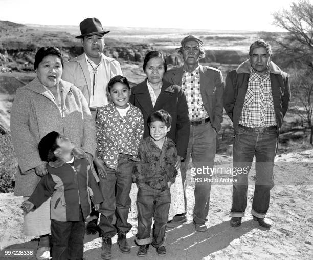 Children of Moenkopi Hopi Village Tuba City Arizona featuring 9 yearold Edward Tuchawena winner of the What Christmas Means to Me letter writing...