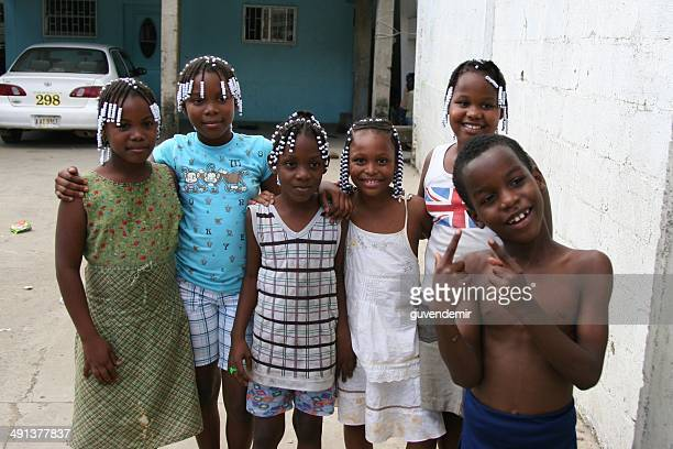 children of roatan - honduras stock pictures, royalty-free photos & images