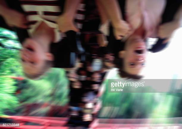 Children on a Roller Coaster Ride