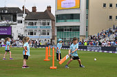 nottingham england children pictured playing all