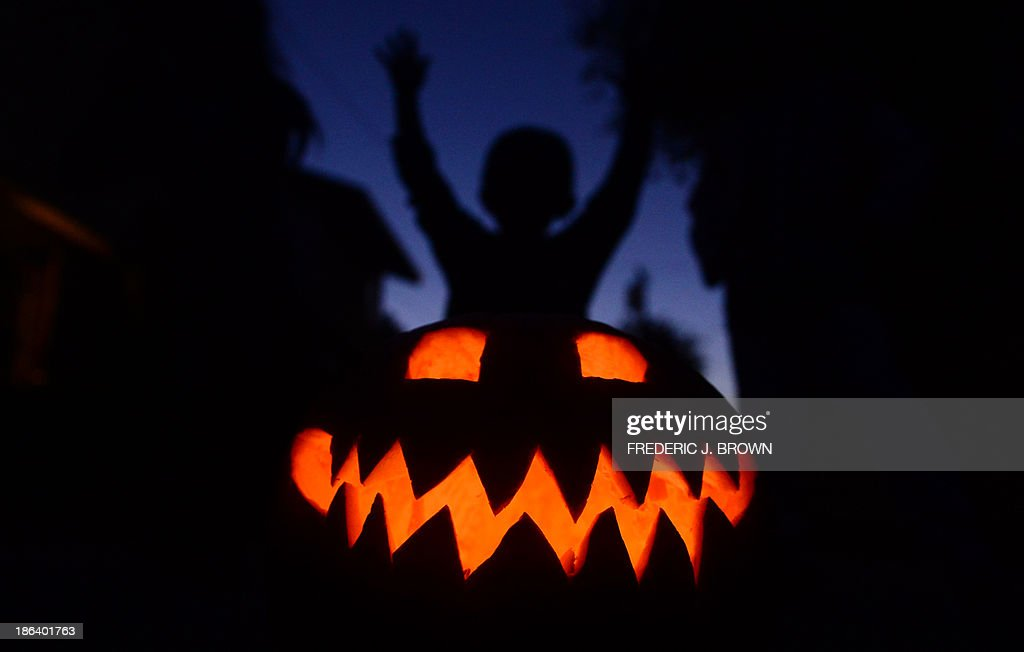 US-HALLOWEEN-PUMPKINS : News Photo