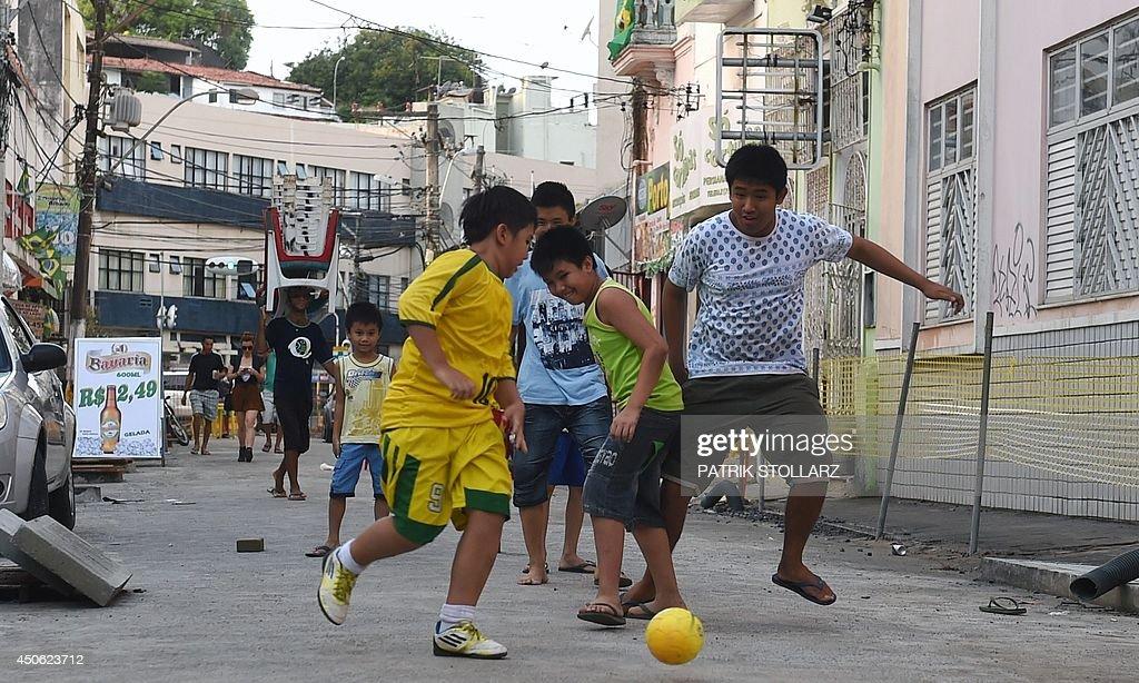 FBL-WC-2014-BRAZIL-FEATURE : News Photo