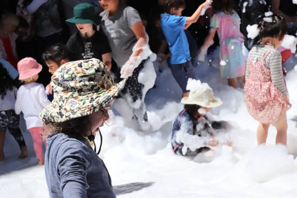 NZL: Crowds Enjoy Very Welly Christmas Street Party And Parade