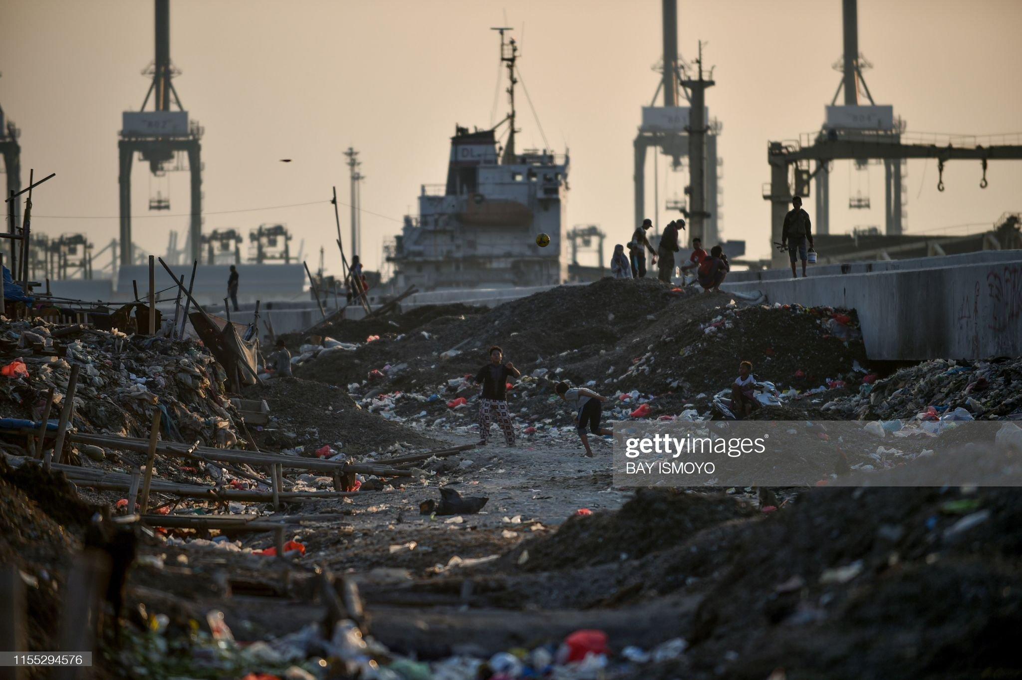 INDONESIA-POVERTY-FEATURE : Fotografia de notícias
