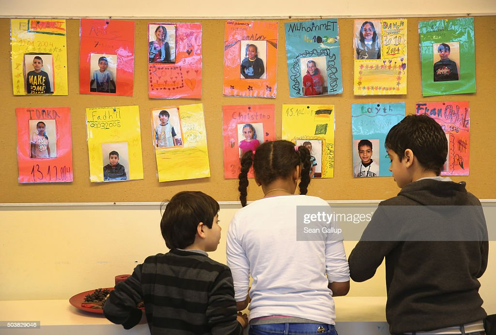 Germany Expands Language Classes For Migrant Children : News Photo