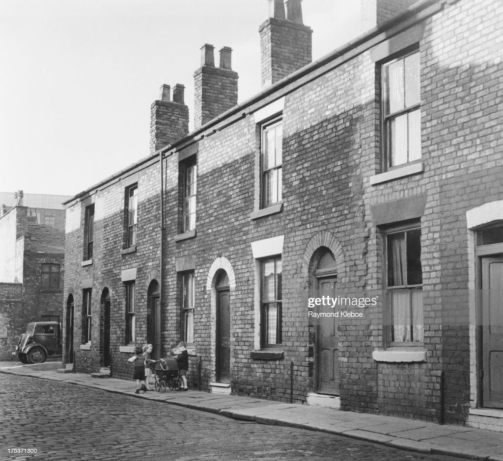 Playing In A Salford Street : News Photo