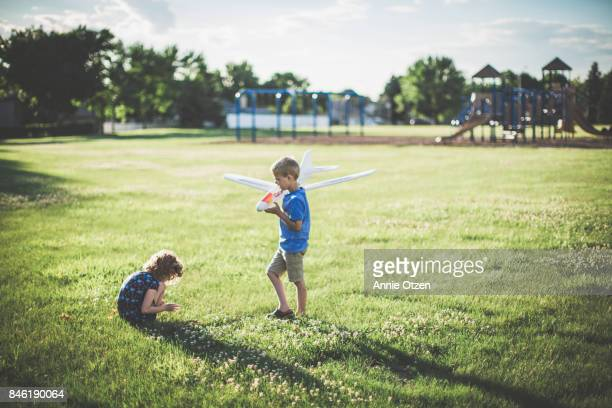 Children Playing in at a park
