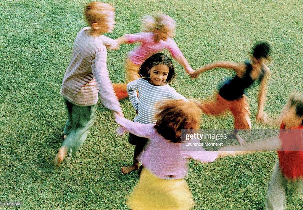 Children playing : Stock Photo
