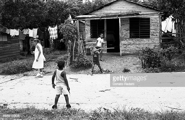 CONTENT] children playing the streets of the suburbs Cubana The joy of Santa Clara