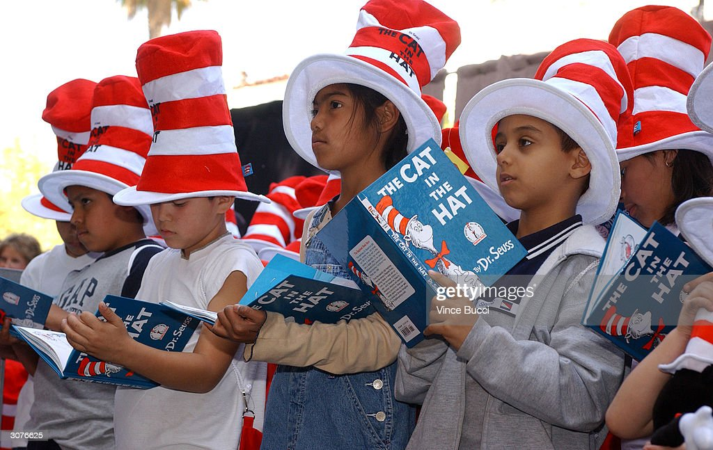 Dr. Seuss Receives A Star On The Hollywood Walk Of Fame : News Photo