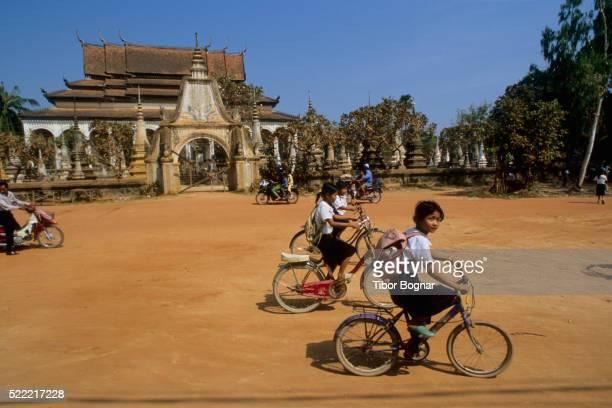 Children Returning from School