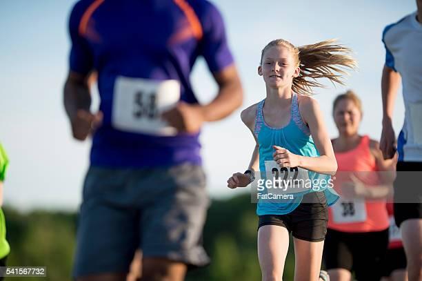 Children Running a 5K
