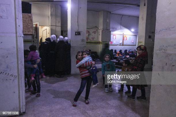 Children seen spending their day in an underground shelter The residents of Arben have been hiding in underground shelters for 25 days now as the...