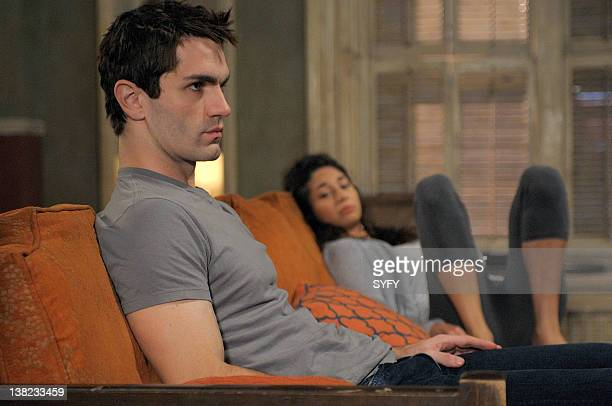 HUMAN Children Shouldn't Play with Undead Things Episode 8 Pictured Sam Witwer as Aidan Cindy Sampson as CIndy Lanham
