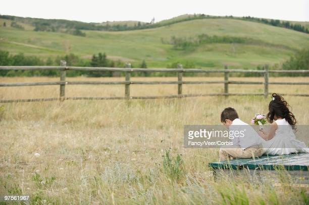 children sitting - boys bare bum stock photos and pictures