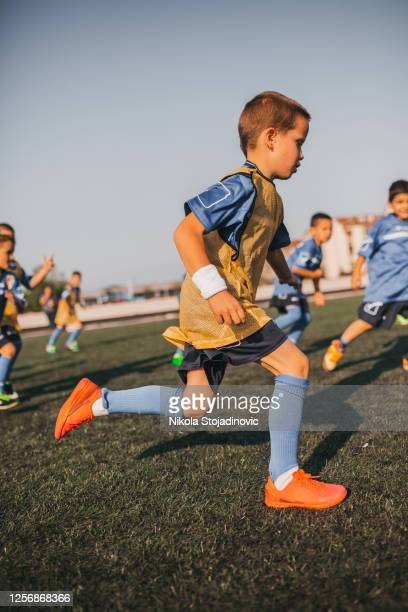 children, soccer gol celebration - the championship football league stock pictures, royalty-free photos & images