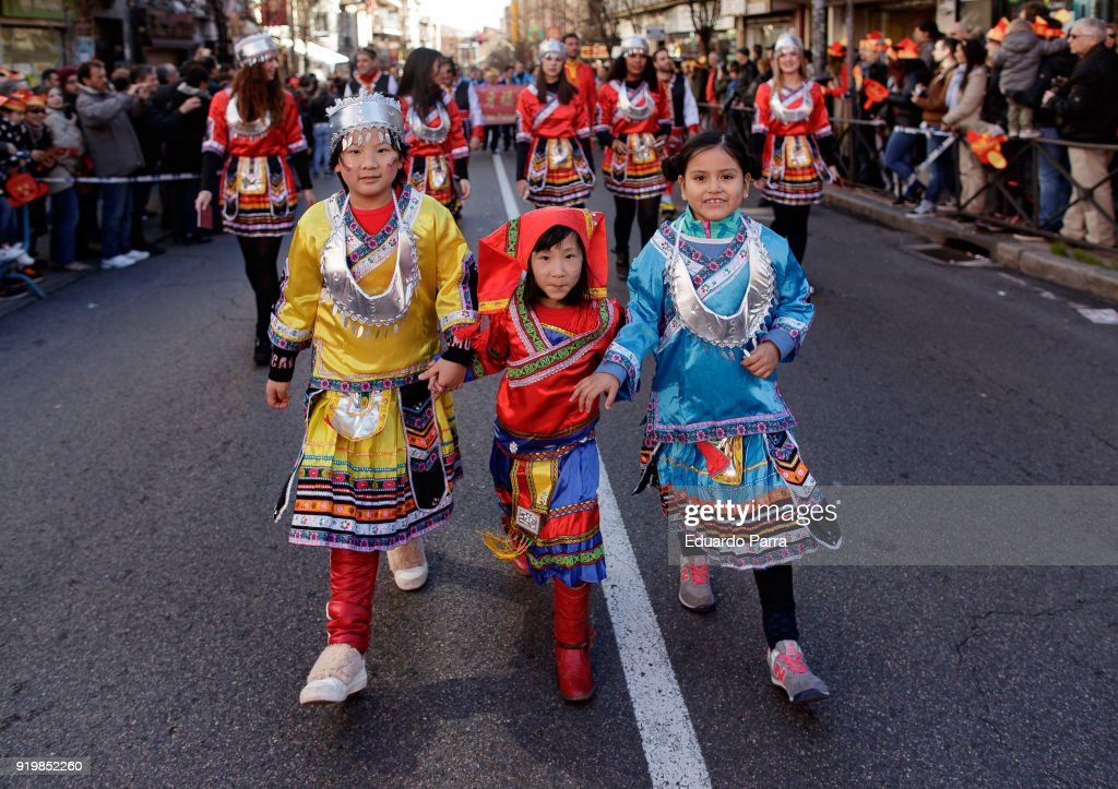Madrid Celebrates The Chinese New Year
