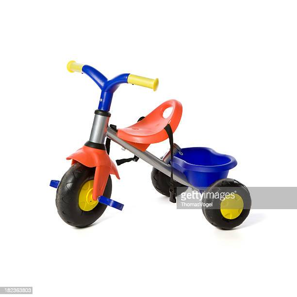 children toy tricyle - tricycle stock pictures, royalty-free photos & images