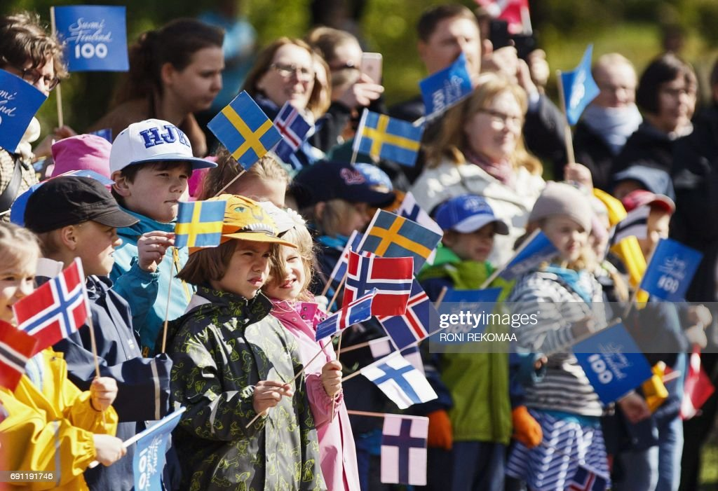 FINLAND-POLITICS-DIPLOMANY-INDEPENDENCE : News Photo