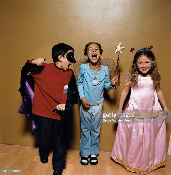 children wearing costumes - princess stock pictures, royalty-free photos & images