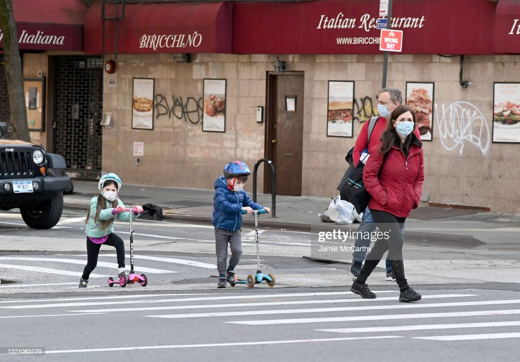Coronavirus Pandemic Causes Climate Of Anxiety And Changing Routines In America : News Photo