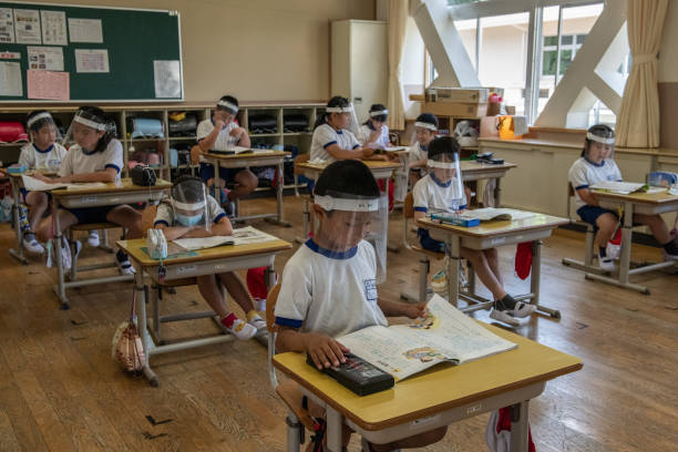 JPN: Schools Implement Covid-19 Safety Measures As Classes Resume