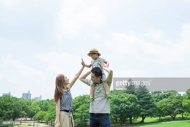Children who are mother and high touch