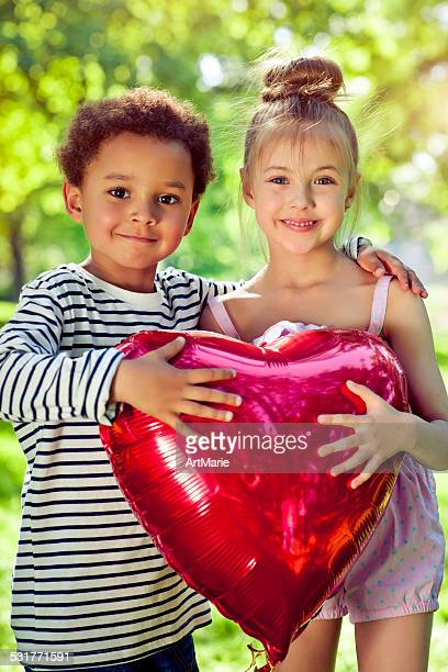 Children with heart