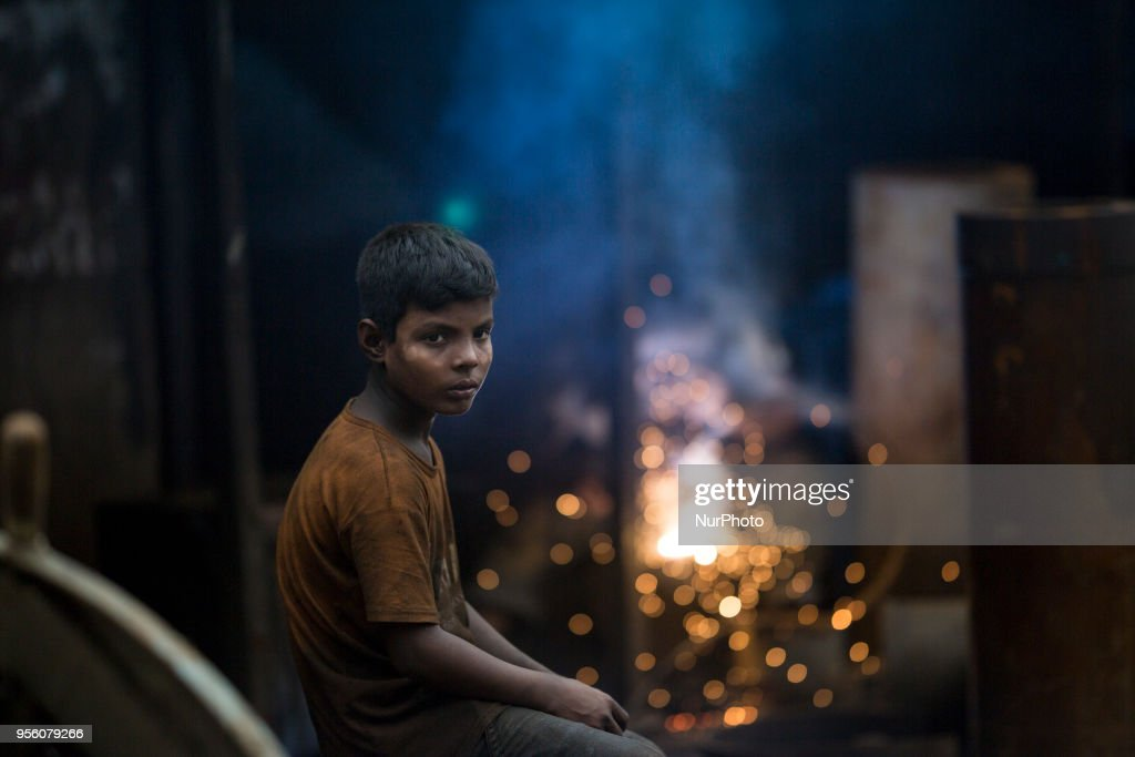Child Labor In Bangladesh : News Photo
