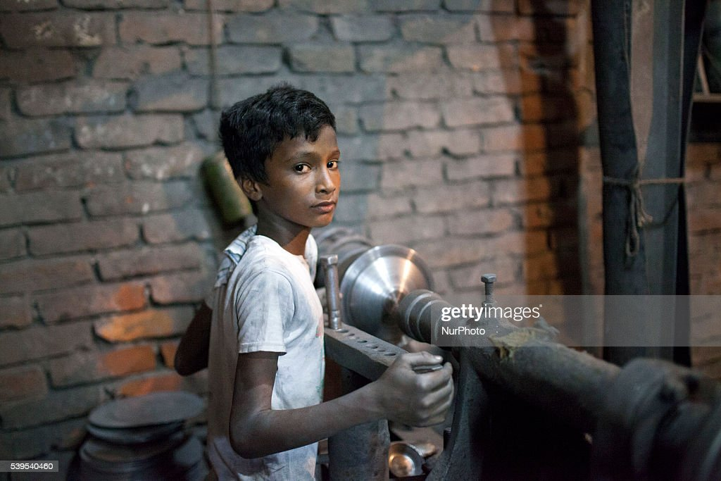 World Day Against Child Labour in Dhaka : News Photo