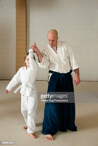 Children's aikido martial arts class