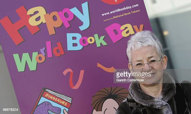 Children's author Jacqueline Wilson launches World Book Day the largest annual celebration of books and reading in the UK at the Unicorn Theatre on...