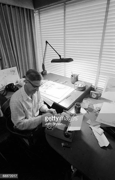Children's author Theodor Geisel, aka Dr. Seuss.
