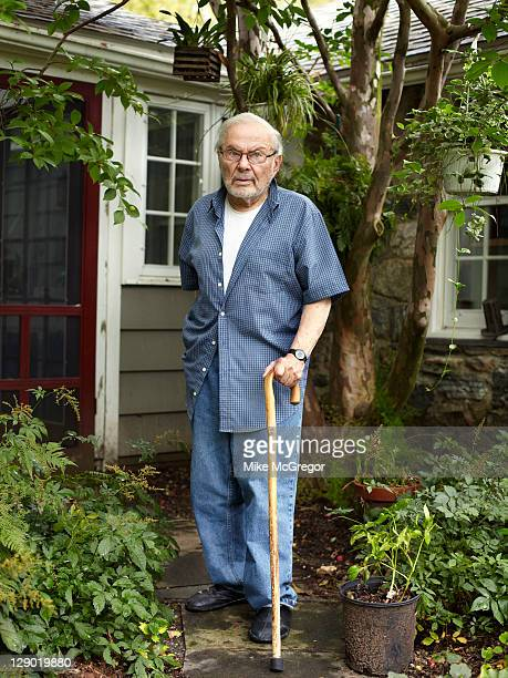 Children's book author Maurice Sendak is photographed for The Times on September 15 2011 in Ridgefield Connecticut