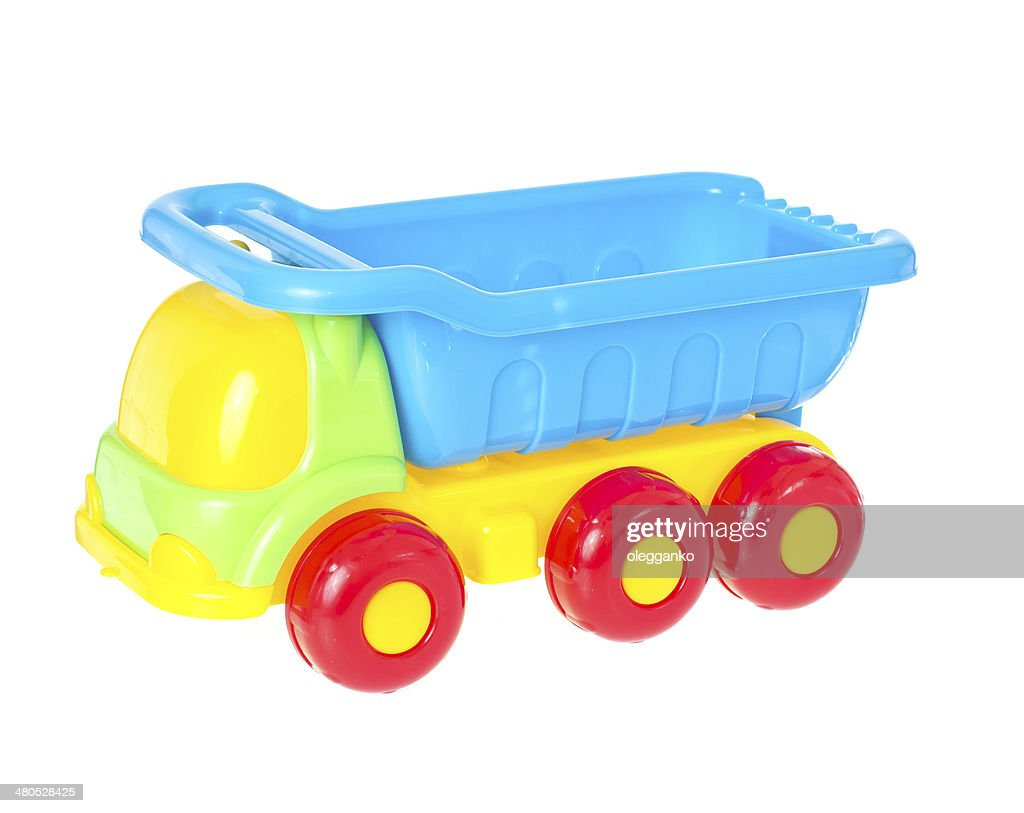 Children's car toy isolated on white background : Stockfoto