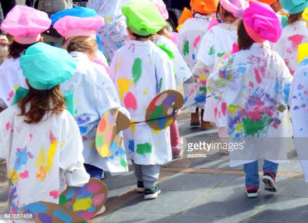 children's carnival - fete stock photos and pictures