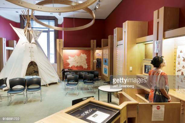 A children's classroom at the National Museum of the American Indian