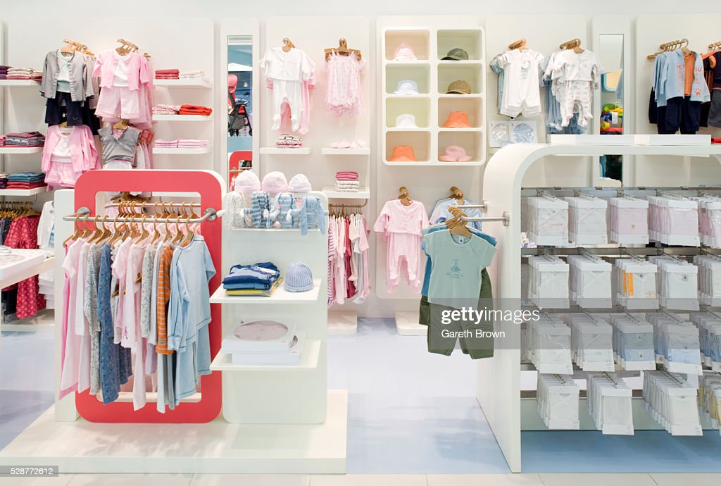 d8d88ca0c2c Childrens Clothing Store Stock Photo - Getty Images