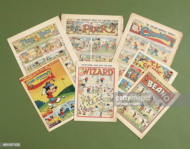 Children's comics with golfing themes British c1950sc1960s Includes the Wizard Beano Chuckles TV Comic Tiny Tots Puck 2 and Walt Disney's Weekly