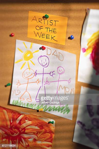 Children's Drawing of a Family