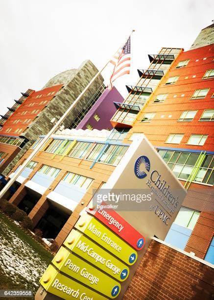 children's hospital of pittsburgh - university of pennsylvania stock photos and pictures