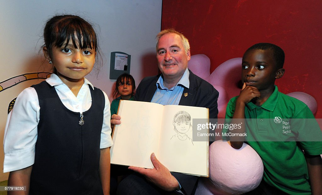Childrens Laureate & Illustrator Chris Riddell attends the press launch for The Fantastic World Of Dr. Seuss at the new Discover Children's Story Centre on July 20, 2016 in London, England