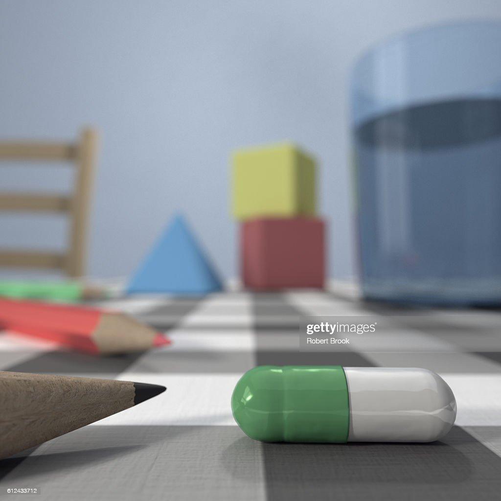 Children's mental health : Stock Photo