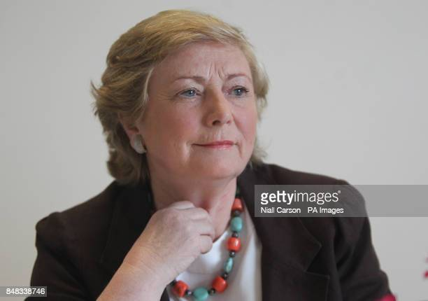 Children's Minister Frances Fitzgerald speaking at the launch of the Irish Childhood Bereavement Network which was set up to support people working...
