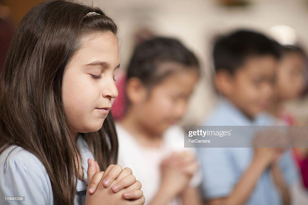 Children's religious program : Stock Photo