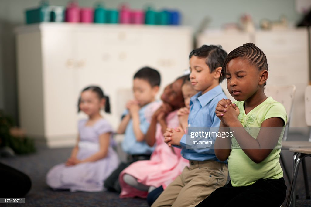Children's religious program : Stock Photo