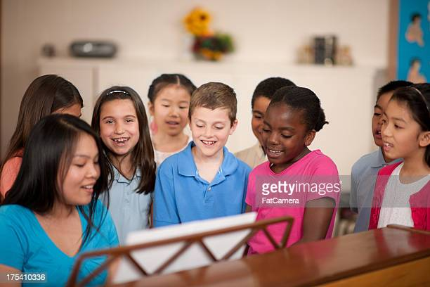 children's religious program - church stock pictures, royalty-free photos & images