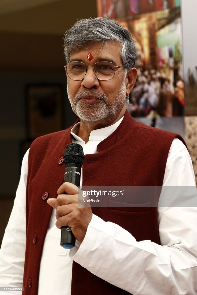 Nobel Peace Prize winner, Kailash Satyarthi, in Ajmer