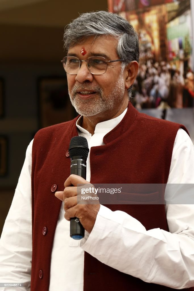 Nobel Peace Prize winner, Kailash Satyarthi, in Ajmer : News Photo